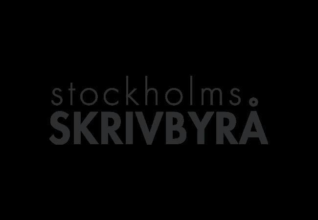 Stockholms Skrivbyrå logo | AYZ writing