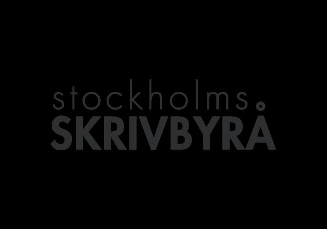 Stockholms Skrivbyrå logo   AYZ writing