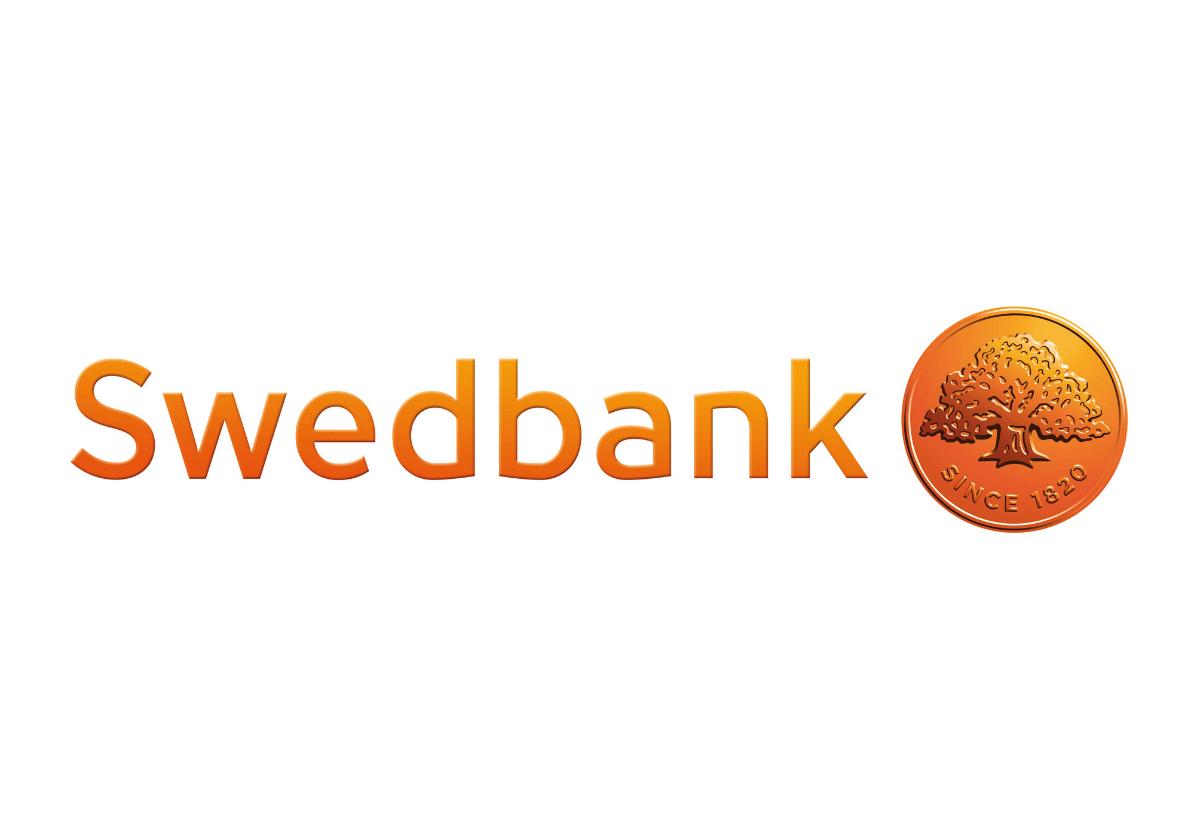 Swedbank Logo   AYZ writing